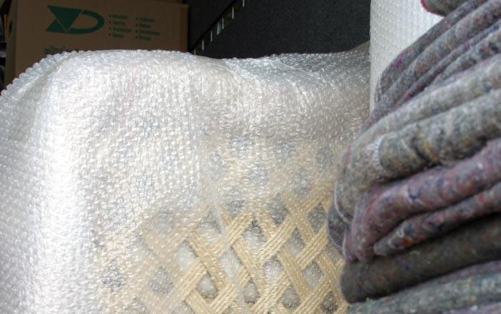 Luftpolsterfolie und Matten Verpackungen München